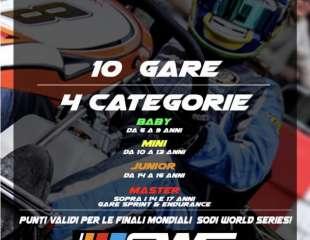 ROMA KARTING SERIES 2019 Round 3 GARA SPRINT GRANDI